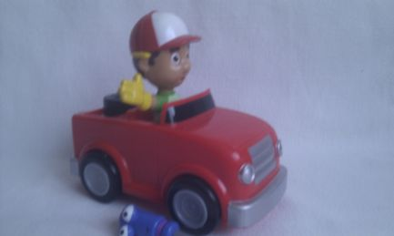 Adorable Disney 'Handy Manny' Tune up & Go Manny Fast Car